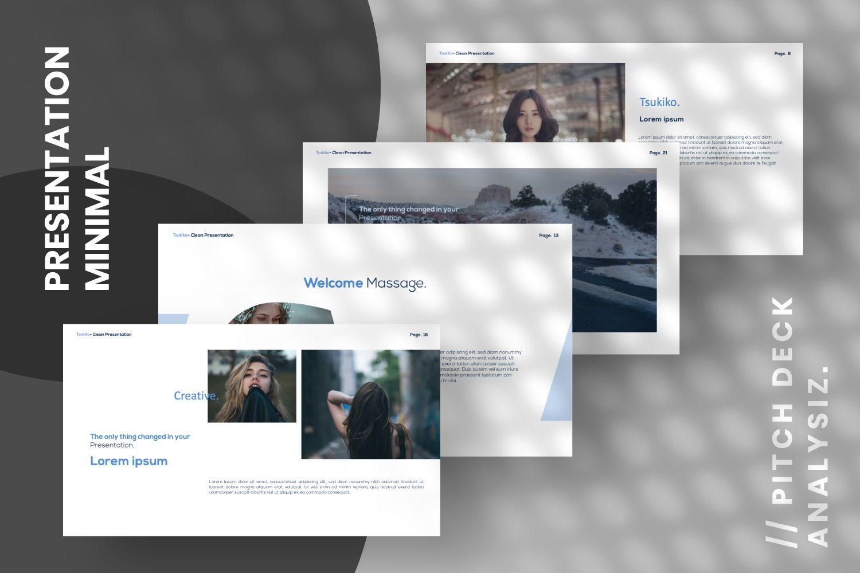 Tsukiko Business Google Slide, Slide 7, 07336, Presentation Templates — PoweredTemplate.com