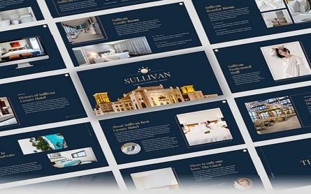 Presentation Templates: Sullivan - Luxury Hotel Google Slide Template #07339