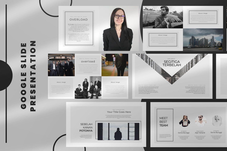 Overload Business Google Slide, 07340, Presentation Templates — PoweredTemplate.com