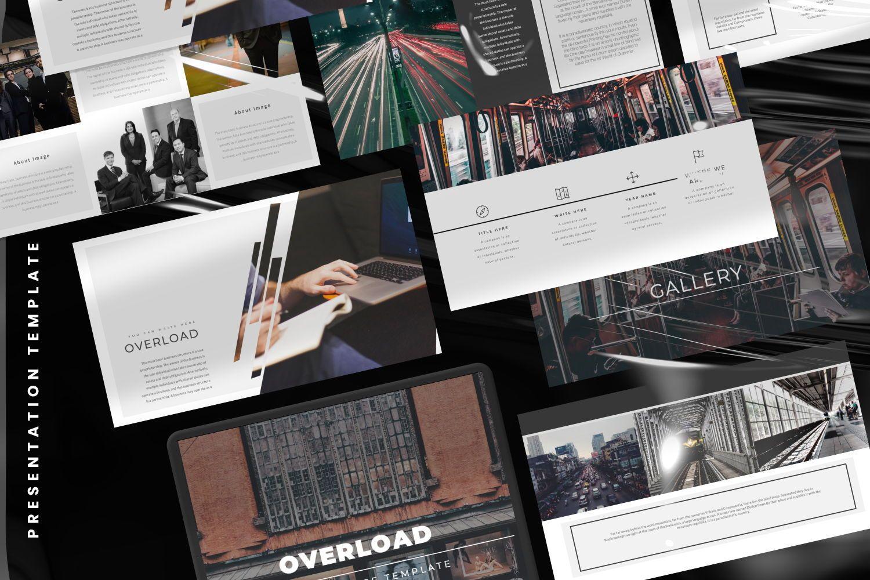 Overload Business Google Slide, Slide 2, 07340, Presentation Templates — PoweredTemplate.com