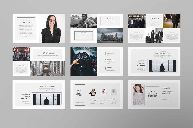 Overload Business Google Slide, Slide 5, 07340, Presentation Templates — PoweredTemplate.com