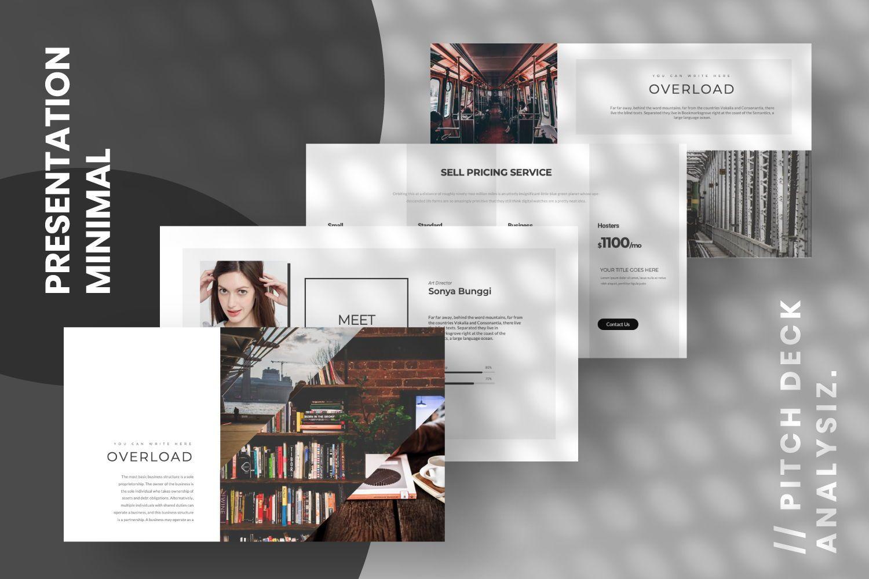 Overload Business Google Slide, Slide 6, 07340, Presentation Templates — PoweredTemplate.com