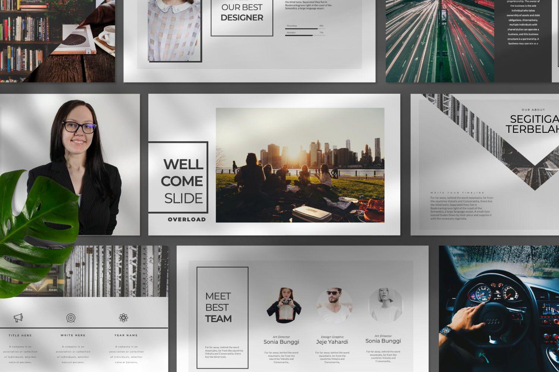 Overload Business Google Slide, Slide 7, 07340, Presentation Templates — PoweredTemplate.com