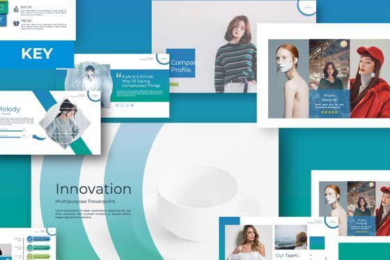 Presentation Templates: Innovation Business Keynote #07342
