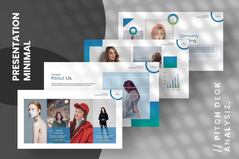 Innovation Business Keynote, Slide 8, 07342, Presentation Templates — PoweredTemplate.com