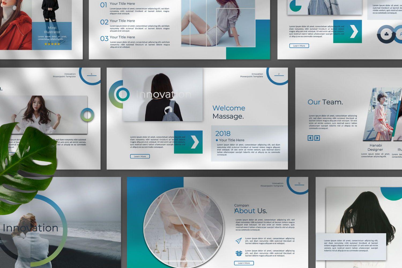 Innovation Business Keynote, Slide 9, 07342, Presentation Templates — PoweredTemplate.com