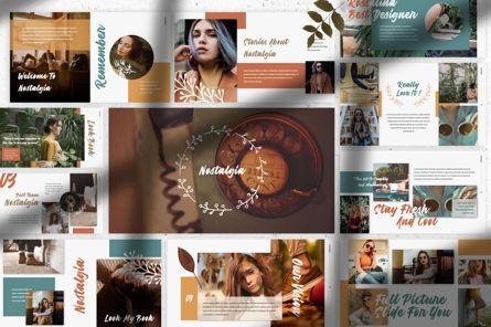 Presentation Templates: Nostalgia Brand Powerpoint #07350