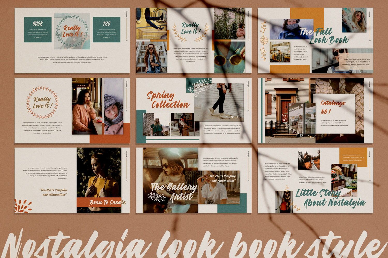 Nostalgia Brand Powerpoint, Slide 3, 07350, Presentation Templates — PoweredTemplate.com