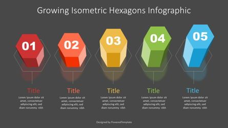 Infographics: Growing Isometric Hexagonal Prisms Infographic #07354