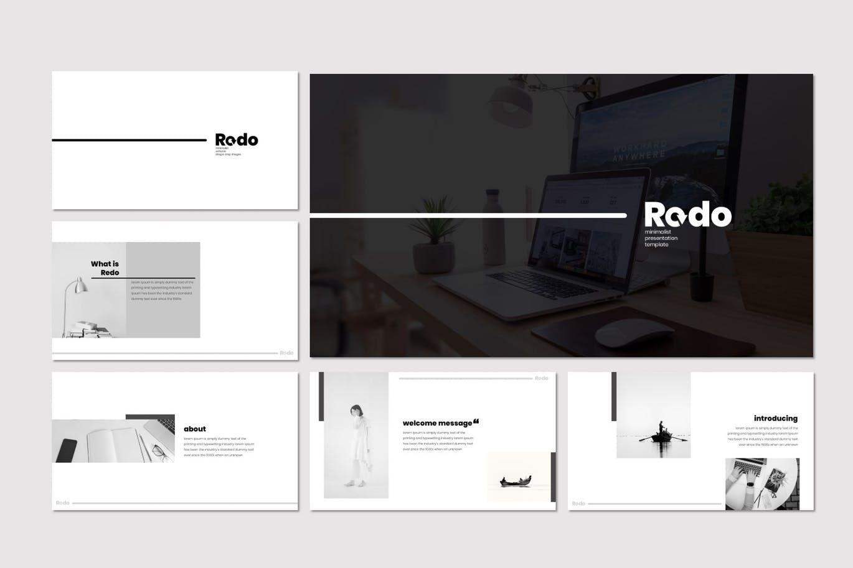 Redo - Keynote Template, Slide 2, 07355, Presentation Templates — PoweredTemplate.com
