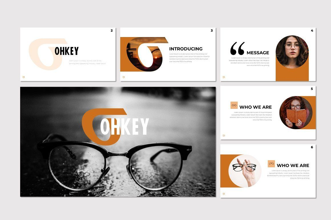 Ohkey - PowerPoint Template, Slide 2, 07356, Presentation Templates — PoweredTemplate.com