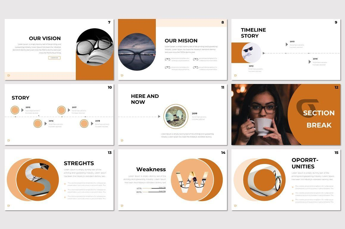 Ohkey - PowerPoint Template, Slide 3, 07356, Presentation Templates — PoweredTemplate.com
