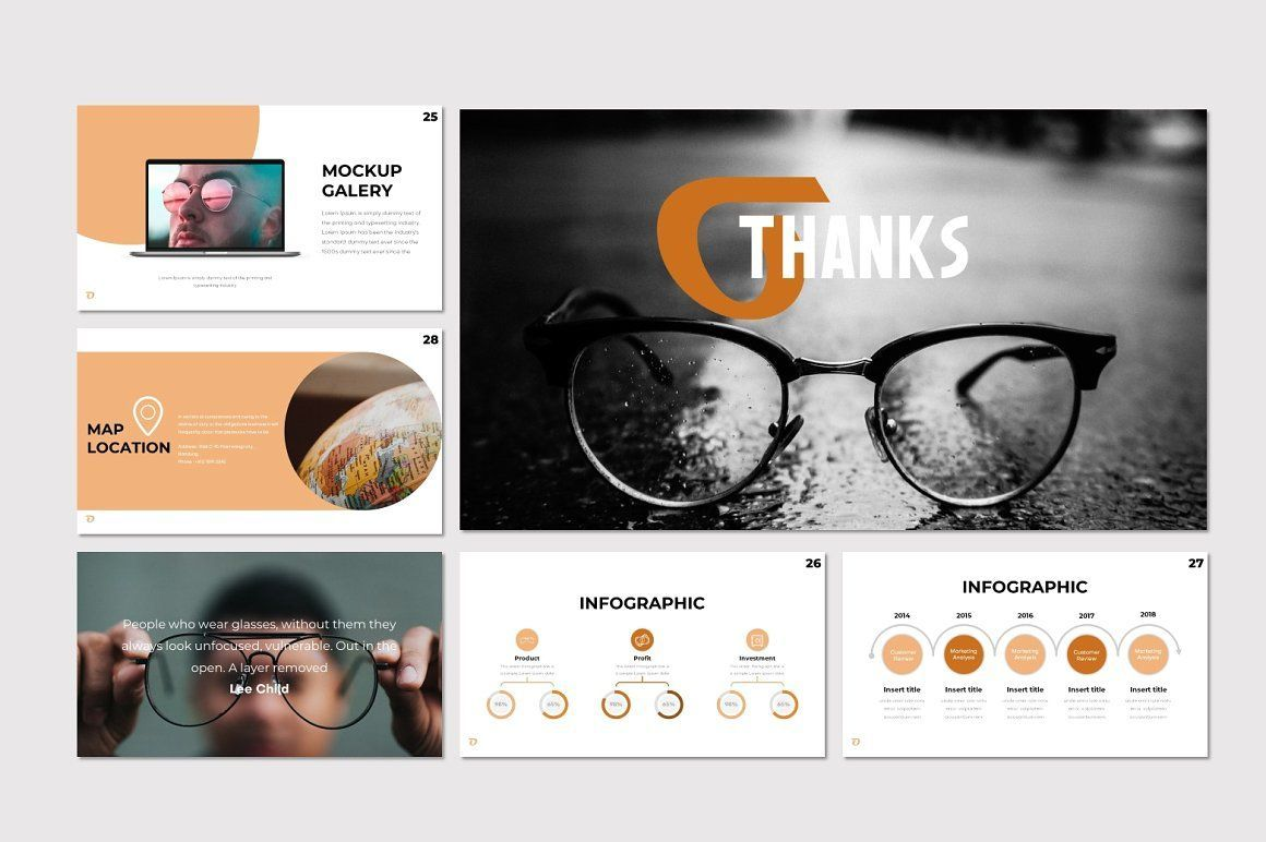 Ohkey - PowerPoint Template, Slide 5, 07356, Presentation Templates — PoweredTemplate.com