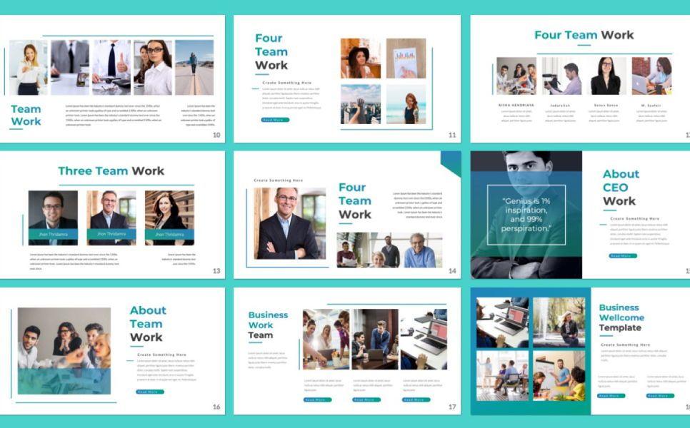 Pitch Deck Business Powerpoint, Slide 2, 07362, Presentation Templates — PoweredTemplate.com