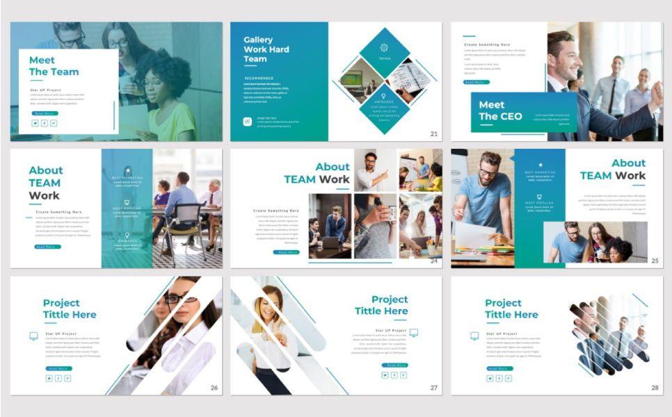 Pitch Deck Business Powerpoint, Slide 3, 07362, Presentation Templates — PoweredTemplate.com
