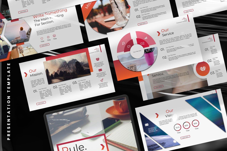 Rule Creative Powerpoint, Slide 2, 07365, Presentation Templates — PoweredTemplate.com