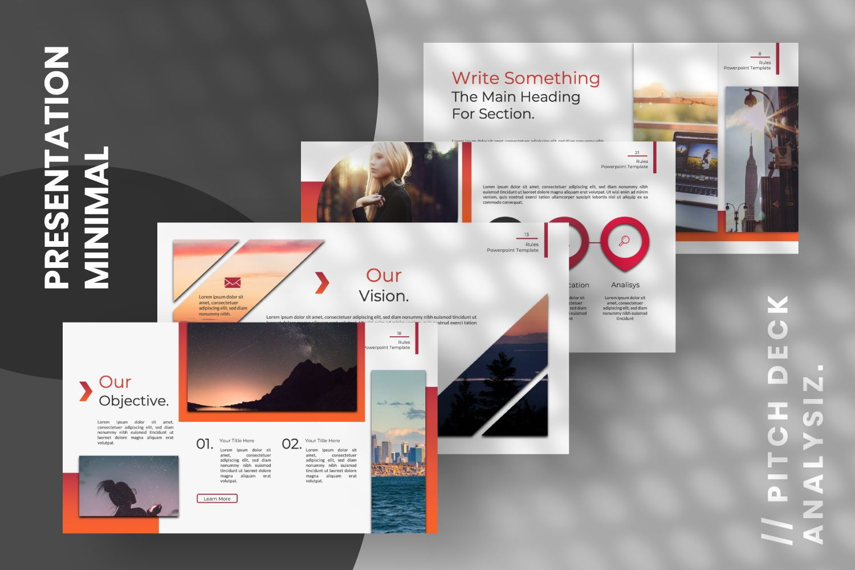 Rule Creative Powerpoint, Slide 5, 07365, Presentation Templates — PoweredTemplate.com