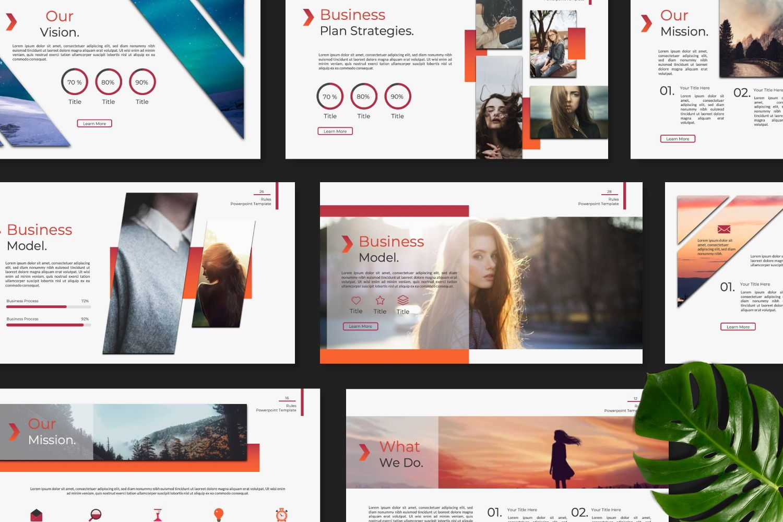 Rule Creative Powerpoint, Slide 8, 07365, Presentation Templates — PoweredTemplate.com