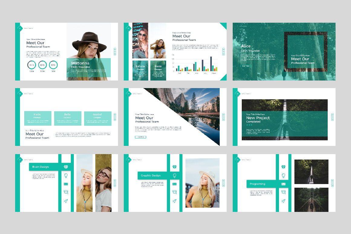 Sonya Creative Business Powerpoint, Slide 6, 07367, Presentation Templates — PoweredTemplate.com