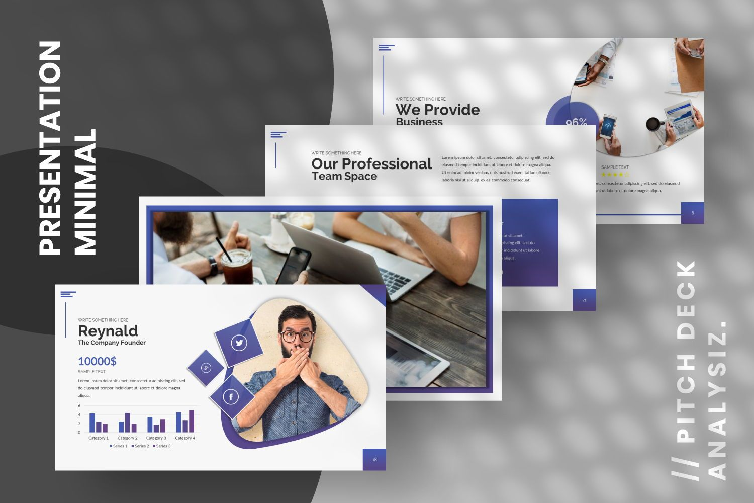 Space Business Google Slide, Slide 4, 07370, Presentation Templates — PoweredTemplate.com