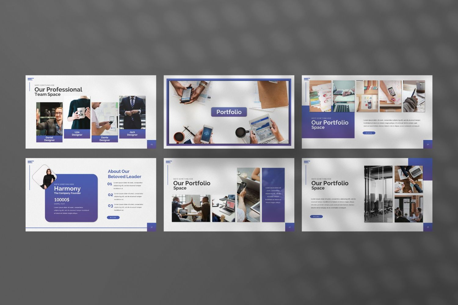 Space Business Google Slide, Slide 7, 07370, Presentation Templates — PoweredTemplate.com