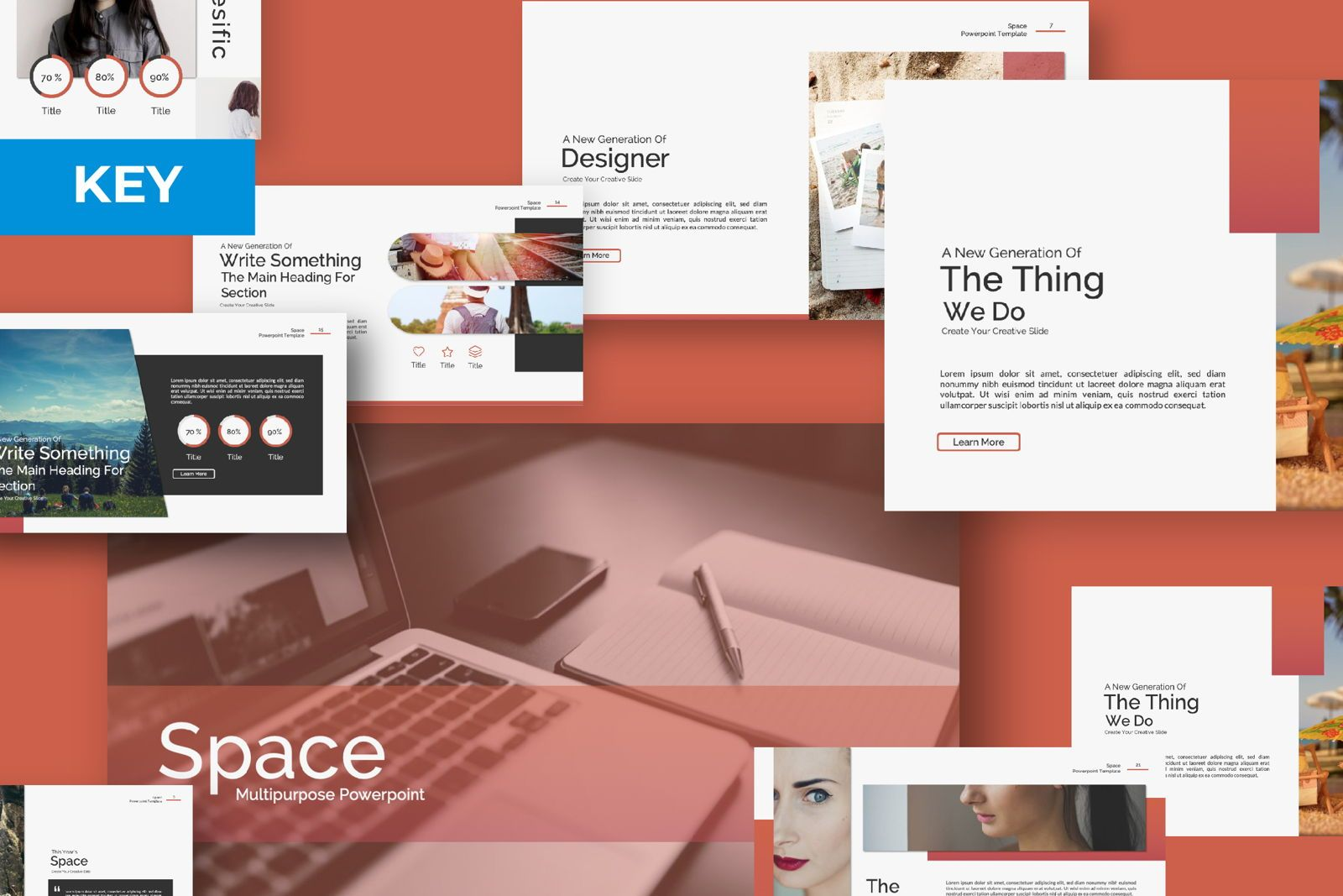 Space Spesific Business Keynote, 07371, Presentation Templates — PoweredTemplate.com