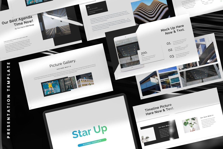 Star Up Creative Powerpoint, Slide 2, 07372, Presentation Templates — PoweredTemplate.com