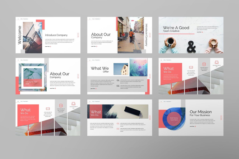Story Business Google Slide, Slide 3, 07373, Presentation Templates — PoweredTemplate.com