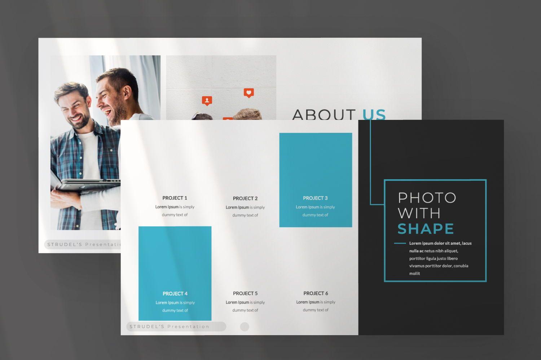 Strudel's Business Powerpoint, Slide 5, 07375, Presentation Templates — PoweredTemplate.com
