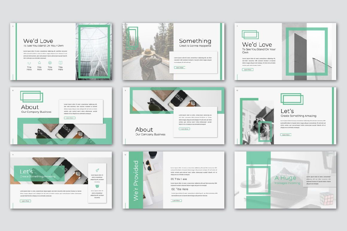 Warsa Business Powerpoint, Slide 5, 07381, Presentation Templates — PoweredTemplate.com