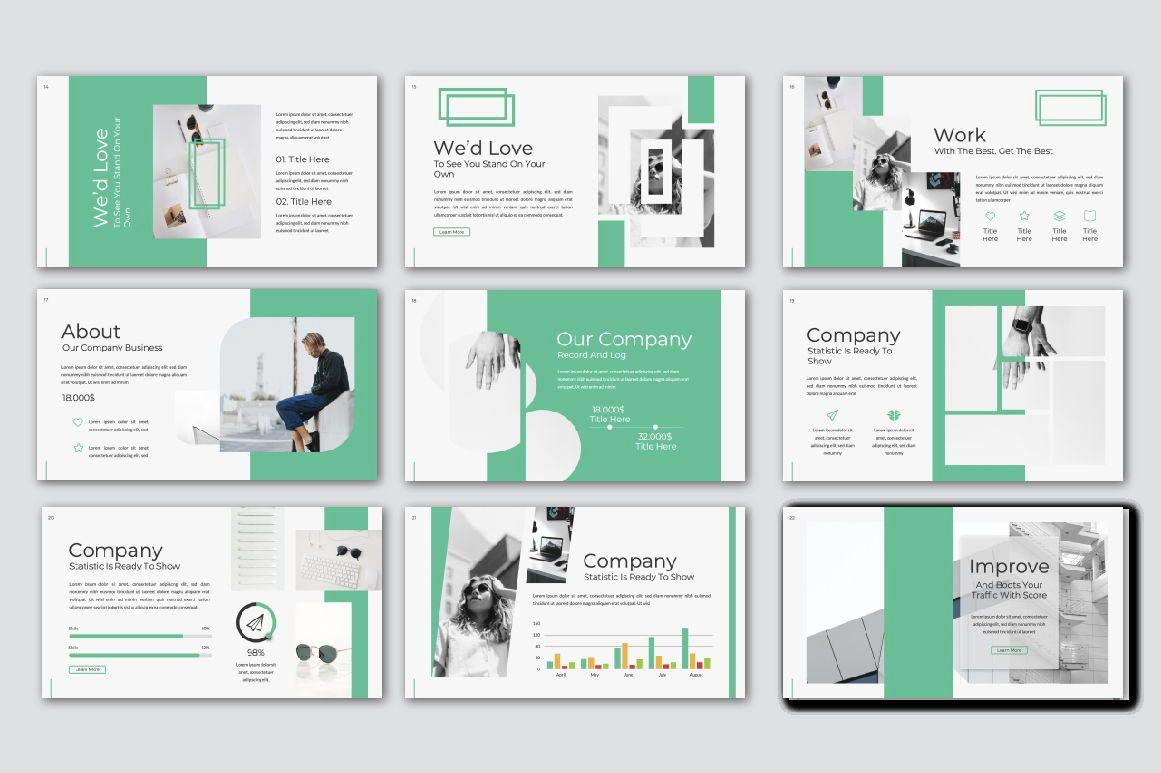 Warsa Business Powerpoint, Slide 6, 07381, Presentation Templates — PoweredTemplate.com