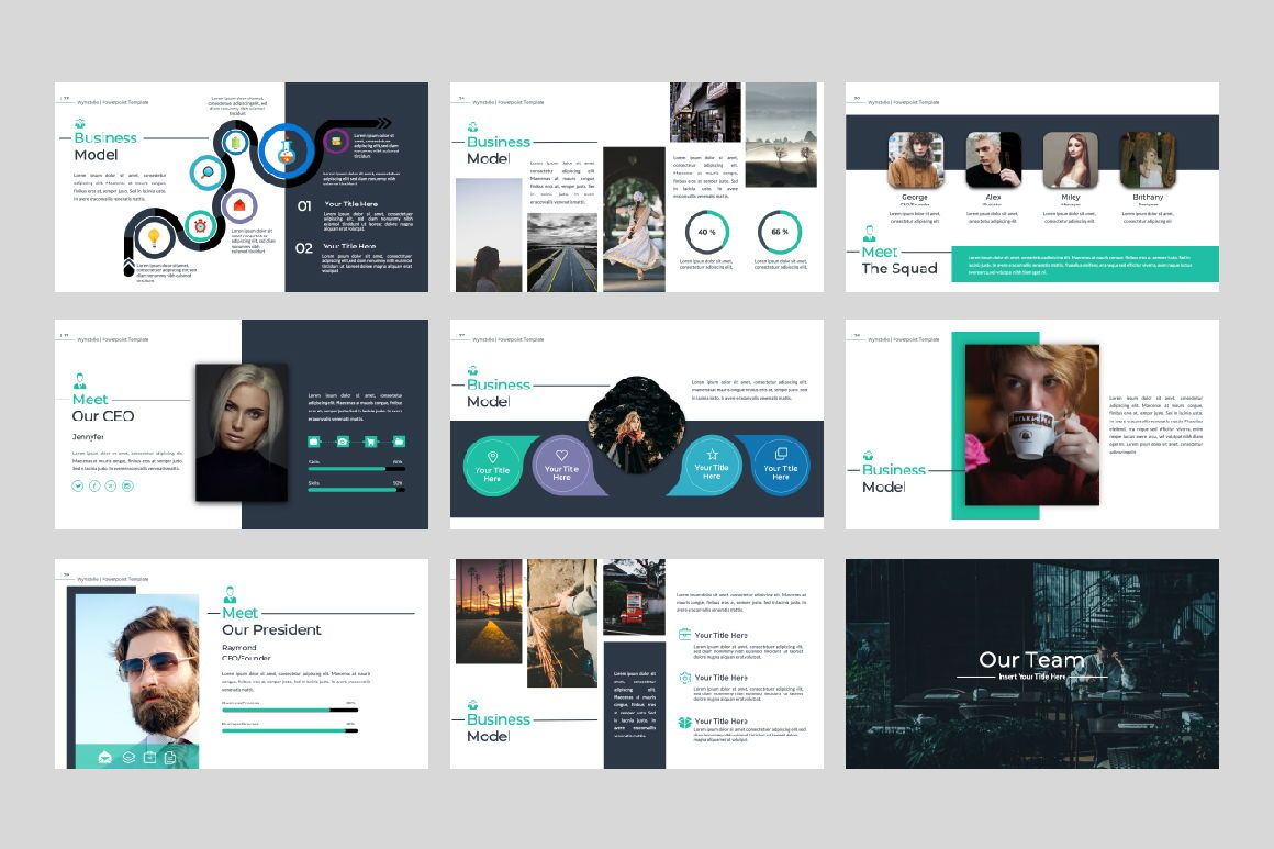 Wynstelle Creative Keynote, Slide 4, 07382, Presentation Templates — PoweredTemplate.com