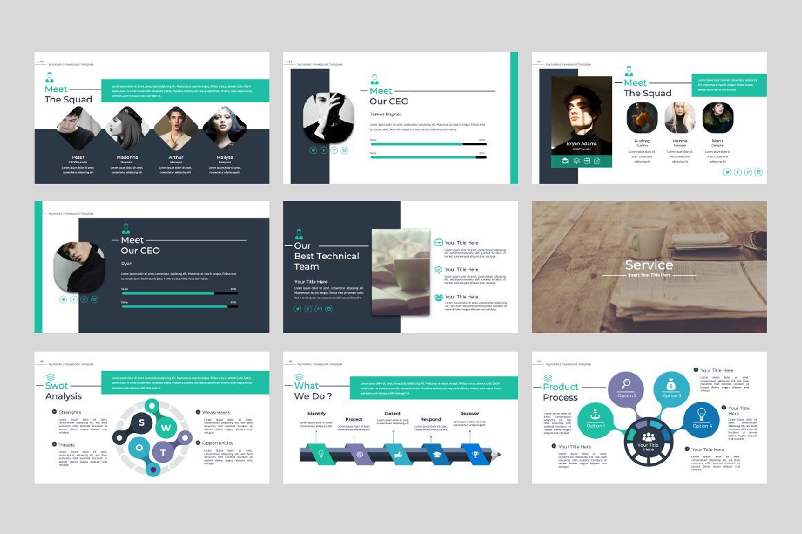 Wynstelle Creative Keynote, Slide 5, 07382, Presentation Templates — PoweredTemplate.com