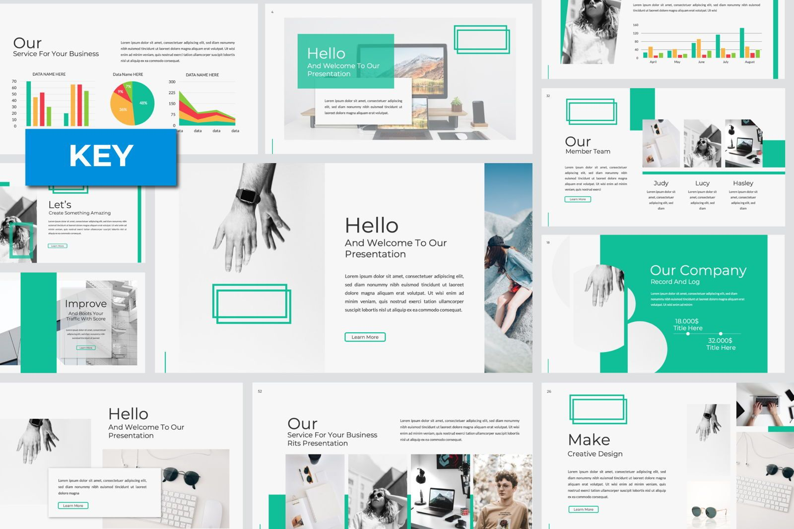 Warsa Business Keynote, 07384, Presentation Templates — PoweredTemplate.com