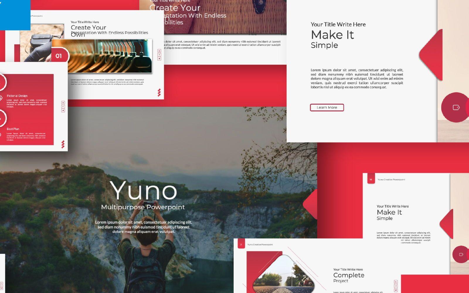 Yuno Business Google Slide, Slide 2, 07389, Presentation Templates — PoweredTemplate.com