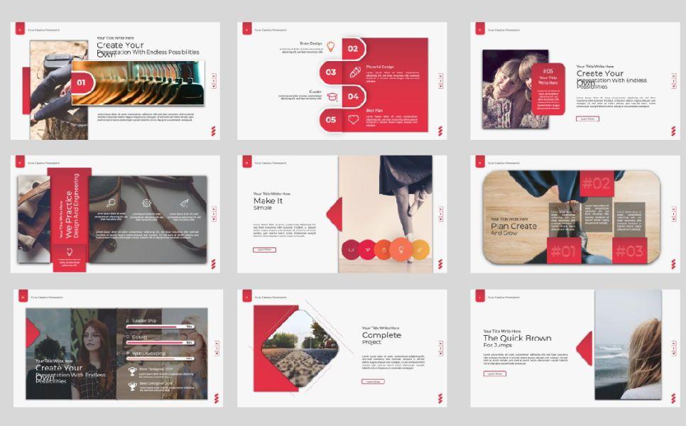 Yuno Business Google Slide, Slide 3, 07389, Presentation Templates — PoweredTemplate.com
