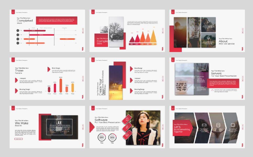 Yuno Business Google Slide, Slide 5, 07389, Presentation Templates — PoweredTemplate.com