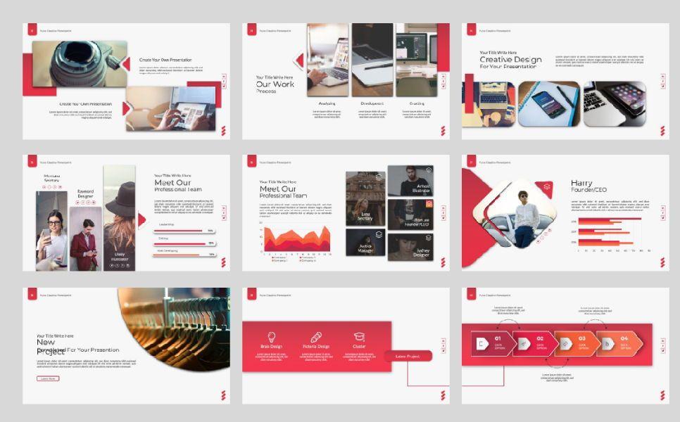Yuno Business Google Slide, Slide 6, 07389, Presentation Templates — PoweredTemplate.com