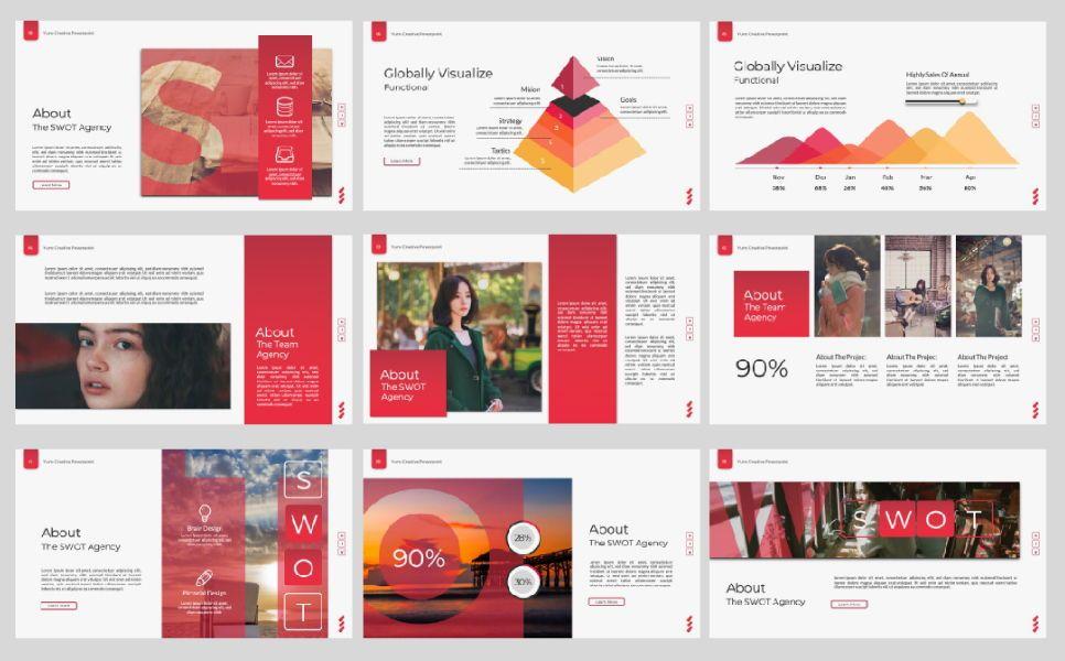 Yuno Business Google Slide, Slide 8, 07389, Presentation Templates — PoweredTemplate.com