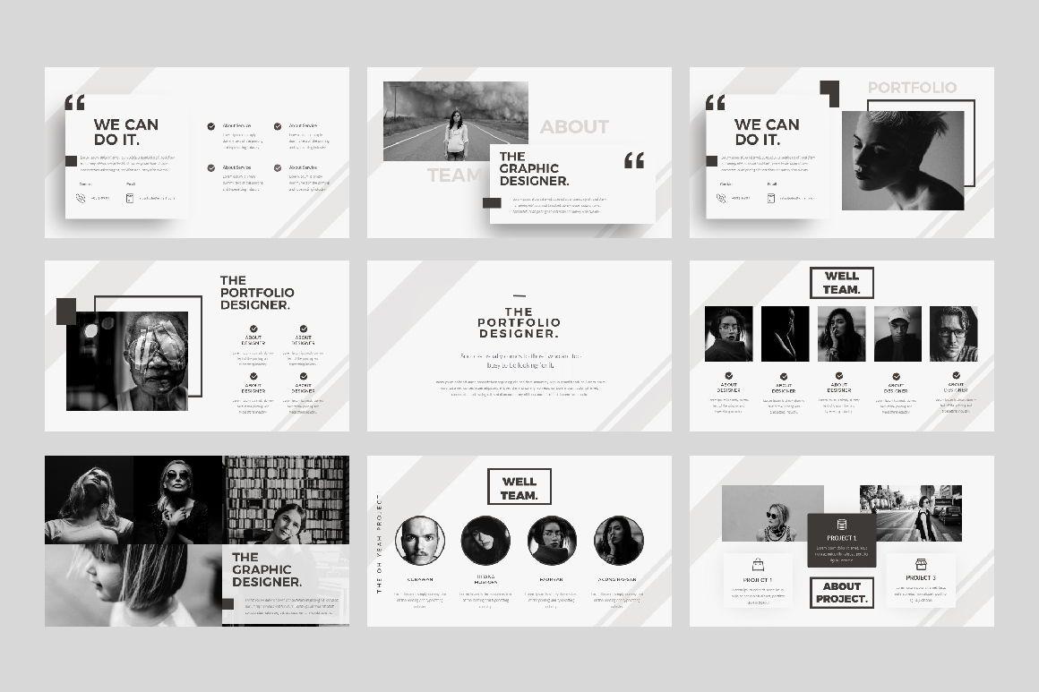Oh Yeah Business Google Slide, Slide 4, 07392, Presentation Templates — PoweredTemplate.com
