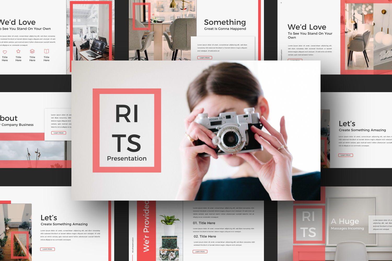 Rits Creative Google Slide, Slide 10, 07394, Presentation Templates — PoweredTemplate.com