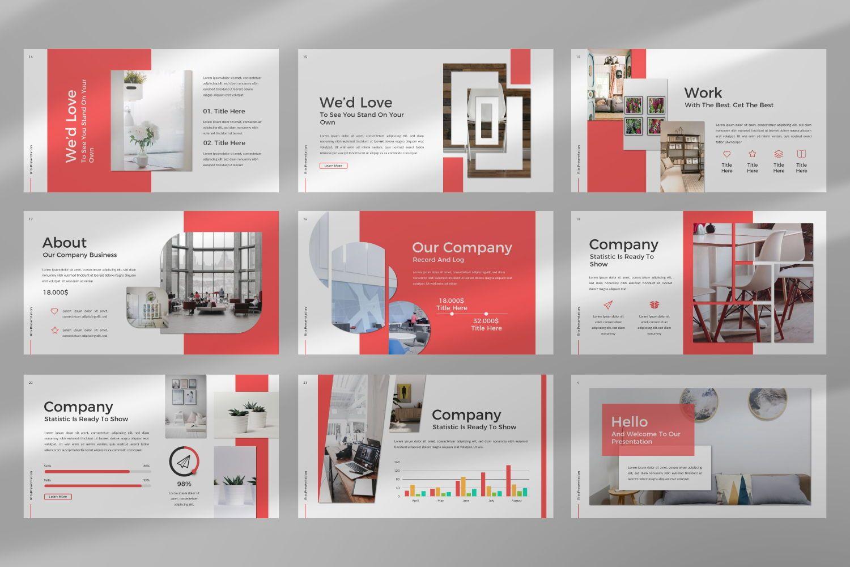 Rits Creative Google Slide, Slide 11, 07394, Presentation Templates — PoweredTemplate.com