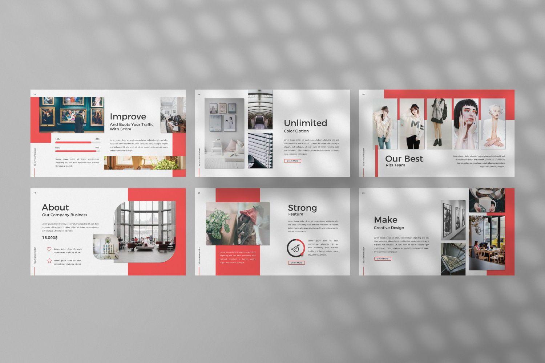 Rits Creative Google Slide, Slide 3, 07394, Presentation Templates — PoweredTemplate.com