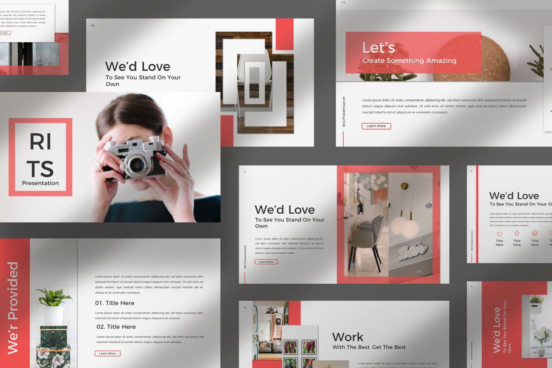 Rits Creative Google Slide, Slide 7, 07394, Presentation Templates — PoweredTemplate.com
