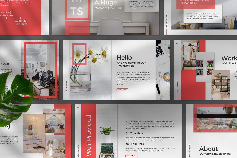 Rits Creative Google Slide, Slide 8, 07394, Presentation Templates — PoweredTemplate.com