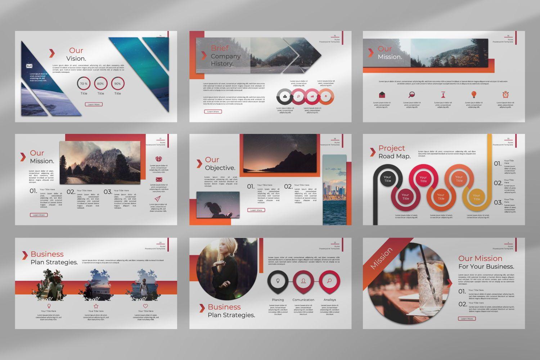 Rule Creative Keynote, Slide 10, 07395, Presentation Templates — PoweredTemplate.com