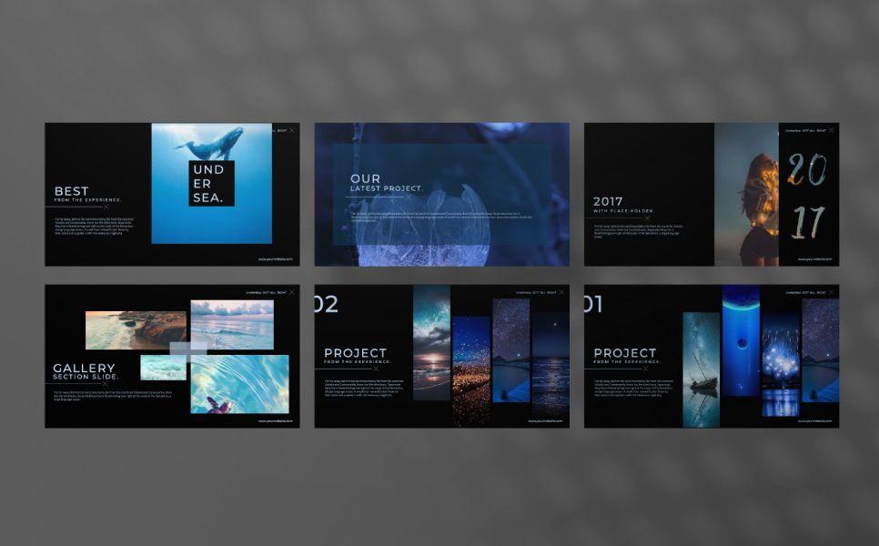 Undersea Business Keynote, Slide 4, 07403, Presentation Templates — PoweredTemplate.com
