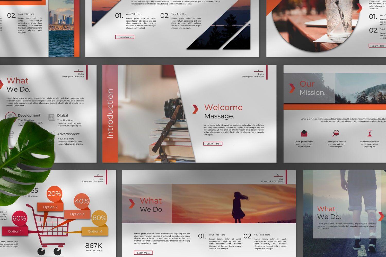 Rule Creative Google Slide, Slide 6, 07408, Presentation Templates — PoweredTemplate.com