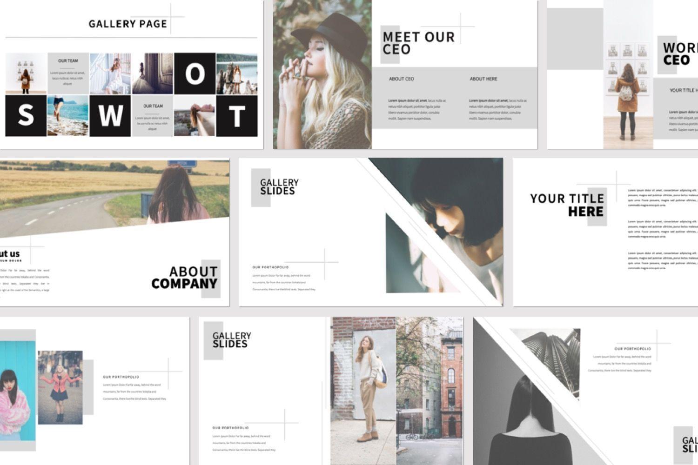 Shina Business Google Slide, Slide 4, 07409, Presentation Templates — PoweredTemplate.com