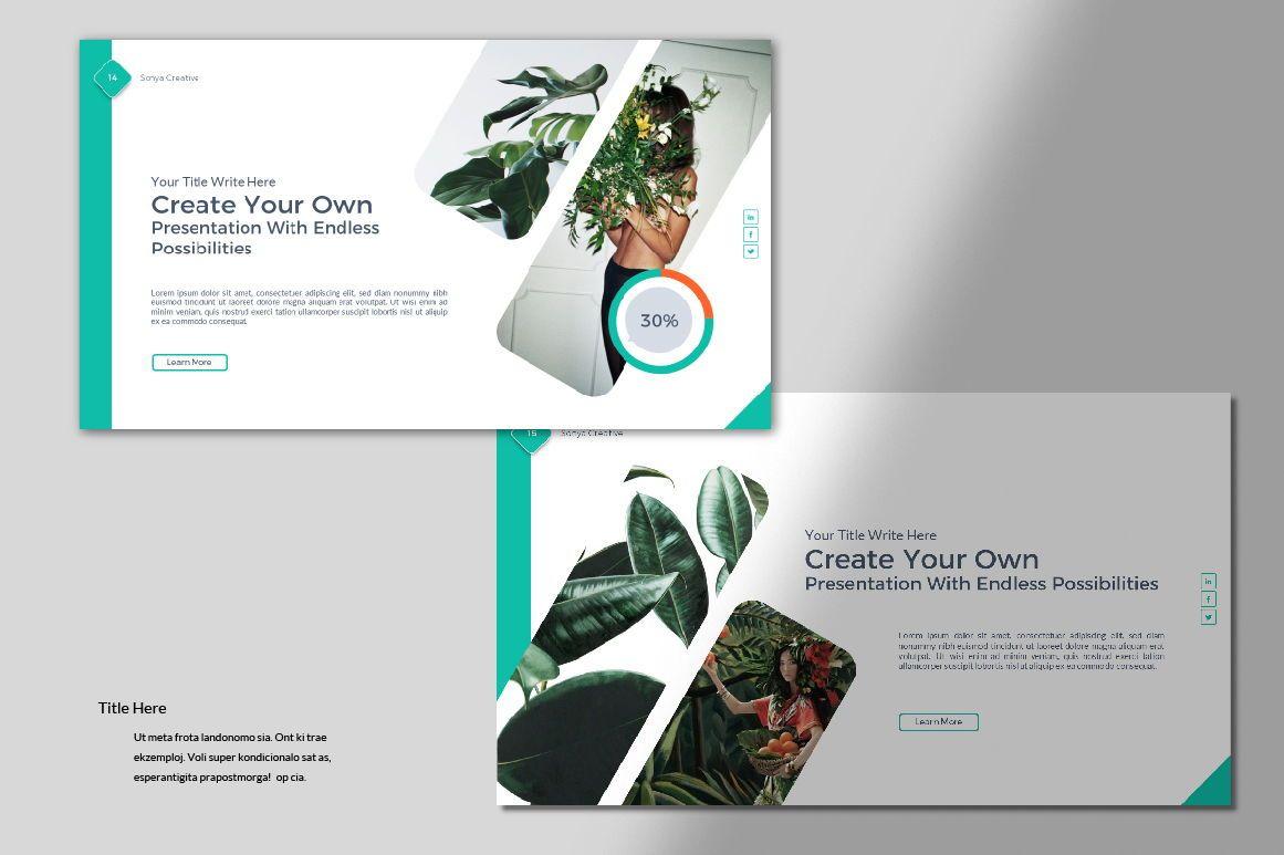Sonya Creative Business Google Slide, Slide 7, 07410, Presentation Templates — PoweredTemplate.com